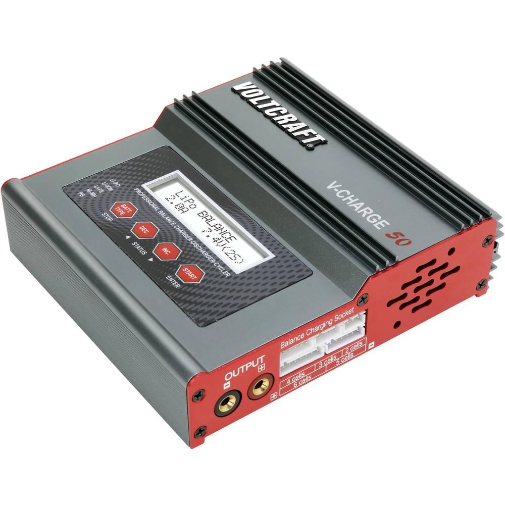 Multifunkcijska polnilna naprava za modelarje 12 V, 230 V 7 A VOLTCRAFT V-Charge 50