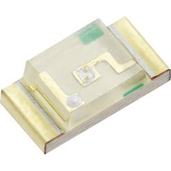 SMD LED QT QTLP650C2 1206 6 mcd 140 ° Rød