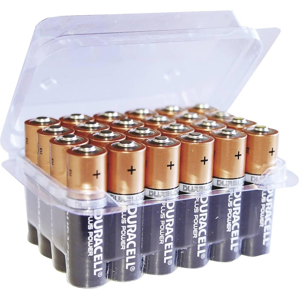 Mignon (AA) baterija alkalna-manganska Duracell Plus LR06 Box 1.5 V 24 kom.