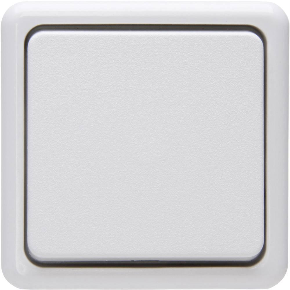 Križni prekidač 513702008 Kopp standard za zid arktički bijela