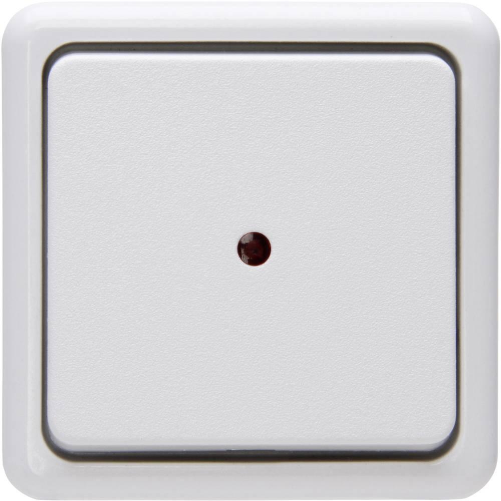 Kontrolni prekidač, izmjenični prekidač, prekidač za isključivanje 514602006 Kopp standard za zid arktički bijela