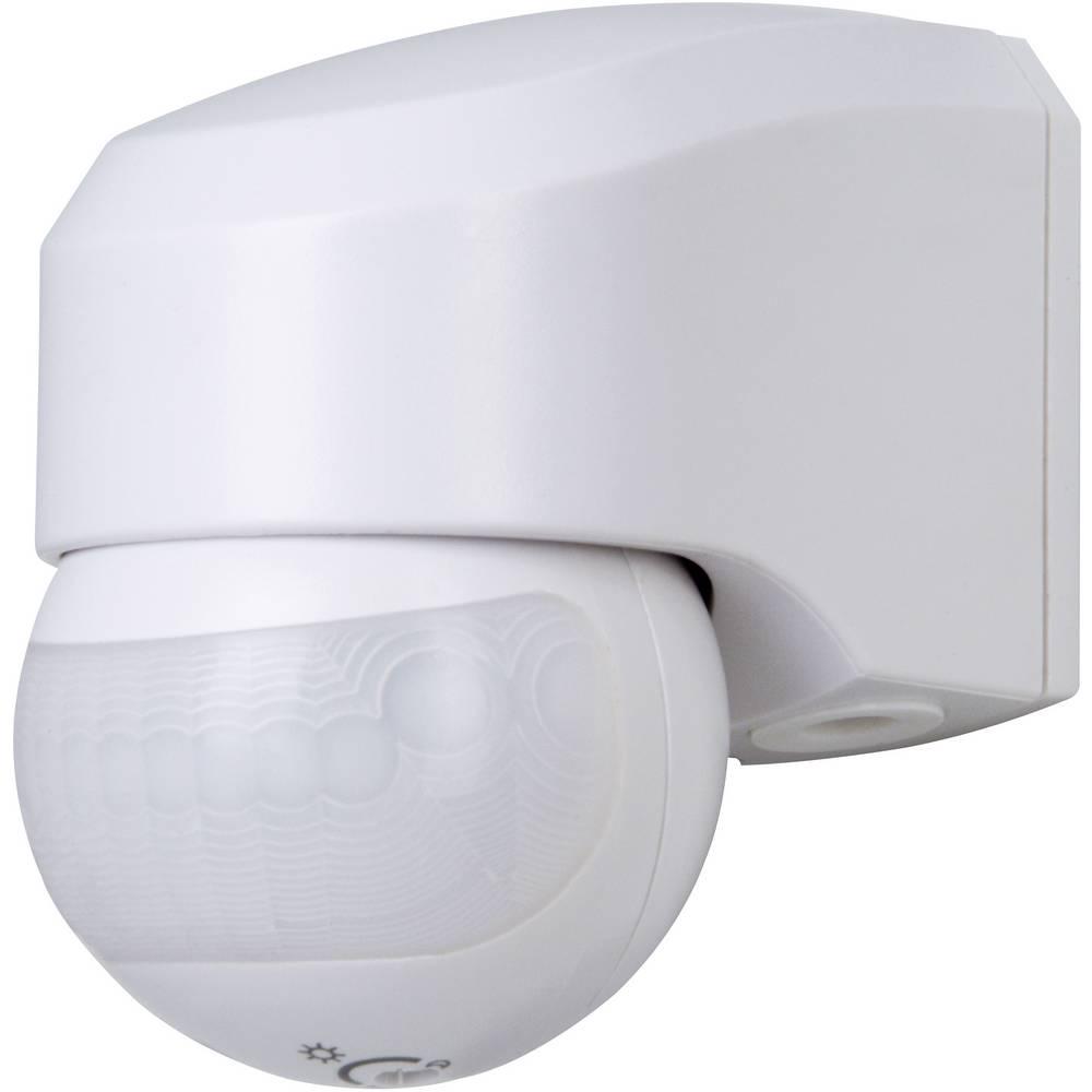 Stenski PIR-senzor gibanja Kopp 823802014 180 ° Relais bele barve IP44