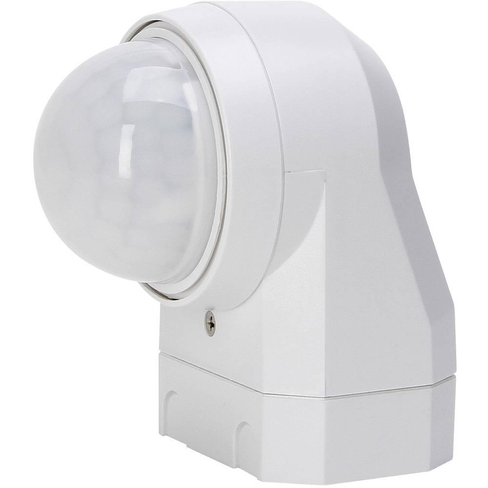 Stenski, Vgradni PIR-senzor gibanja Kopp 824617011 240 ° Relais bele barve IP54