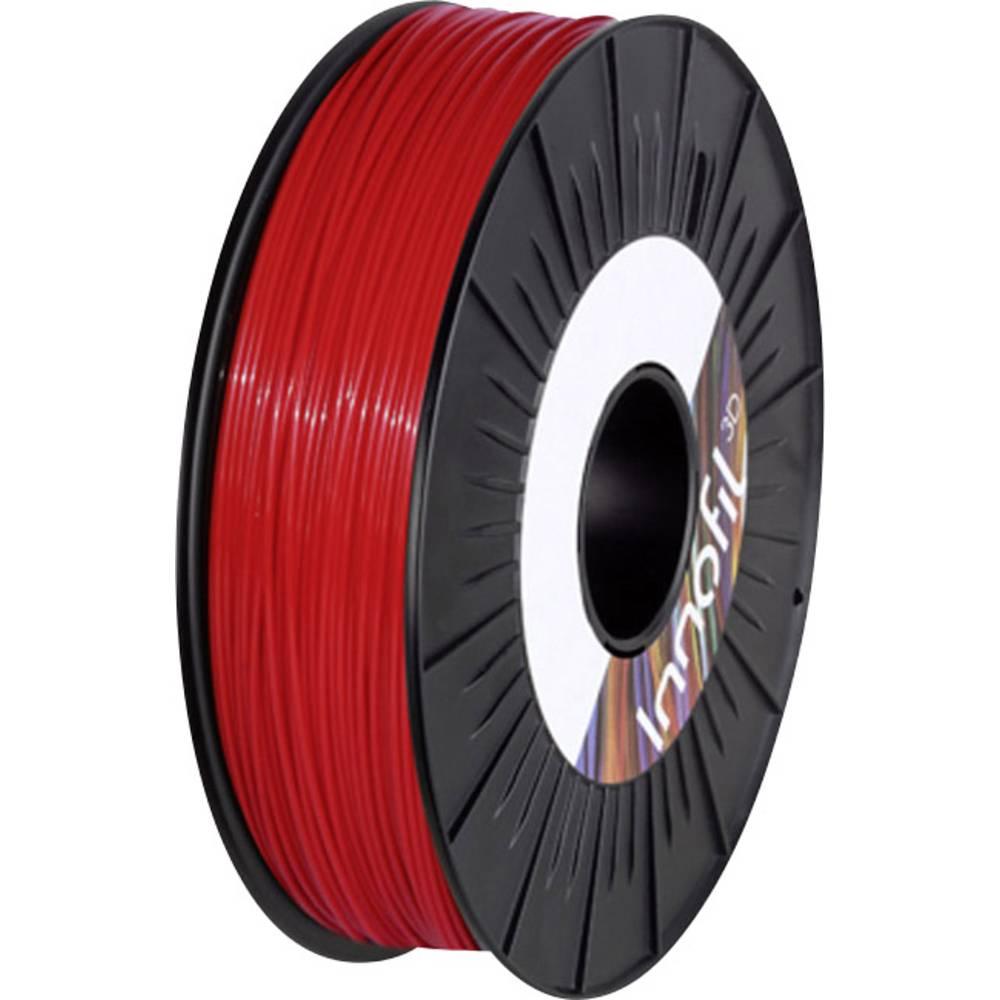 Filament Innofil 3D FL45-2009A050 PLA kompozit, fleksibilen Filament 1.75 mm rdeče barve 500 g