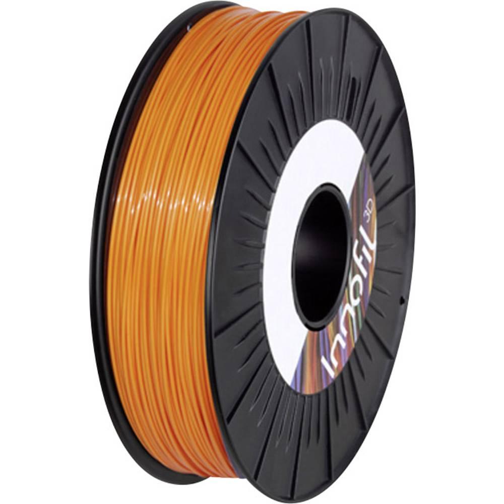 Filament Innofil 3D FL45-2011A050 PLA kompozit, fleksibilen Filament 1.75 mm oranžne barve 500 g