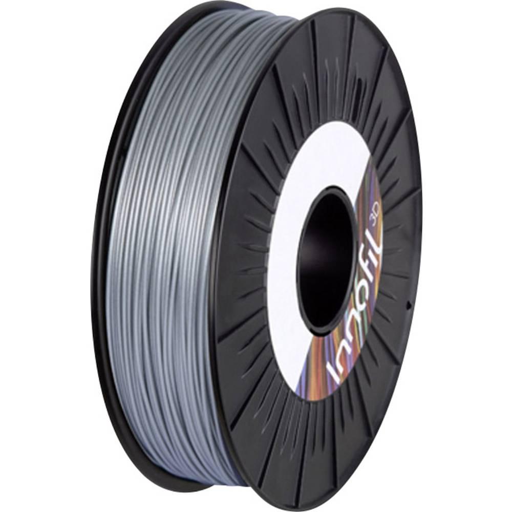 Filament Innofil 3D FL45-2021A050 PLA kompozit, fleksibilen Filament 1.75 mm sive barve 500 g