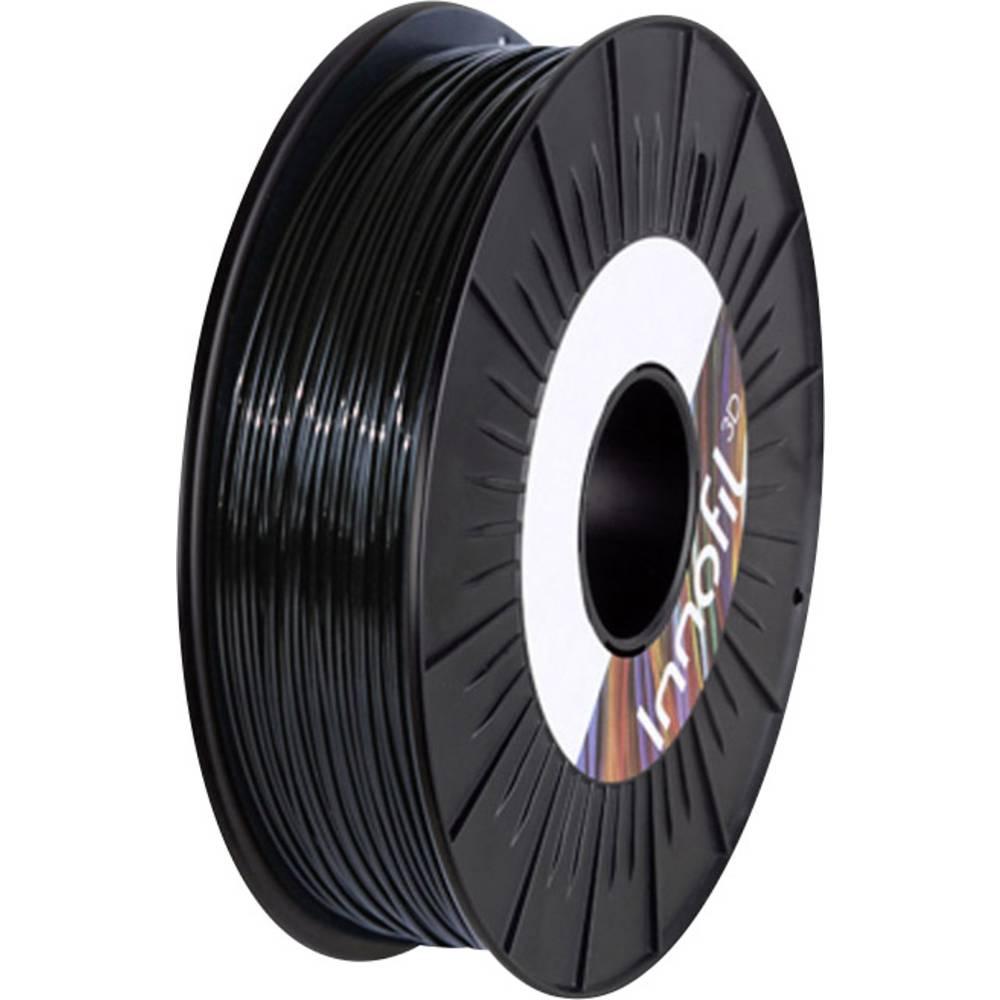 Filament Innofil 3D FL45-2008B050 PLA kompozit, fleksibilen Filament 2.85 mm črne barve 500 g