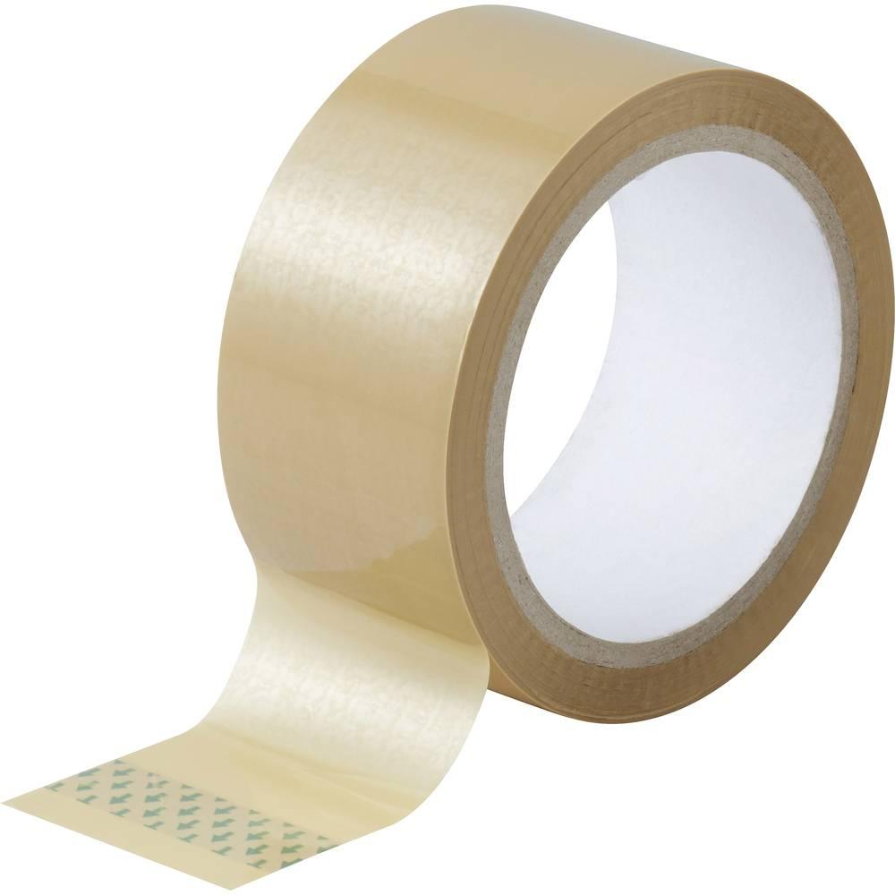 Ljepljiva traka za pakiranje TOOLCRAFT smeđa (D x Š) 50 m x 48 mm akril sadržaj: 1 rola