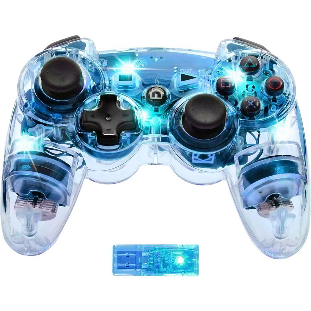 Svjetleći bežični upravljač PDP za PlayStation® 3 plava