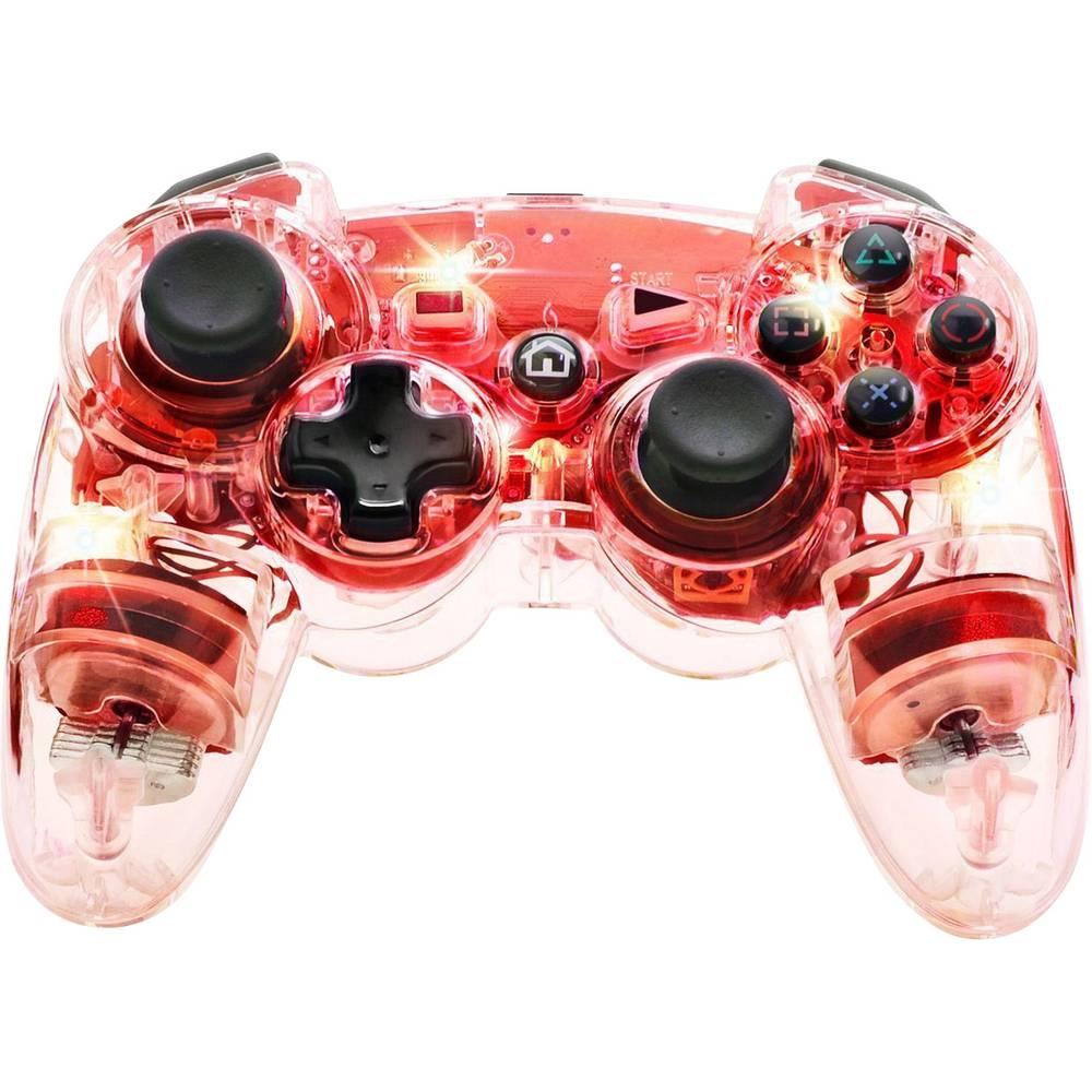 Svjetleći bežični upravljač PDP za PlayStation® 3 crvena