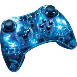 Wii U-kontroll Afterglow Wireless Controller Nintendo® Wii U Transparent, Blå