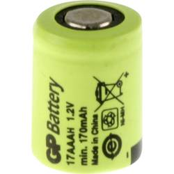 Posebni akumulator 1/3 AAA Flat-Top NiMH GP Batteries GP17AAAH 1.2 V 170 mAh