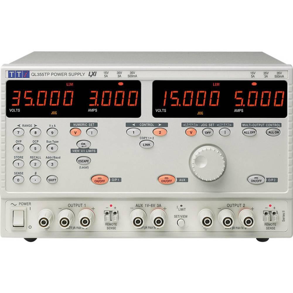 Laboratorijski naponski uređaj, podesivi Aim TTi QL564TP SII 0 - 56 V/DC 0 - 3 A 242 W broj izlaza 3 x