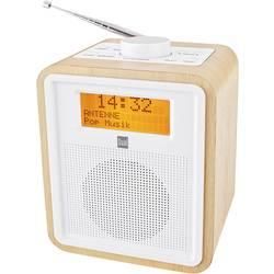 DAB+ radio Dual DAB CR 27 radio-budilka Holz