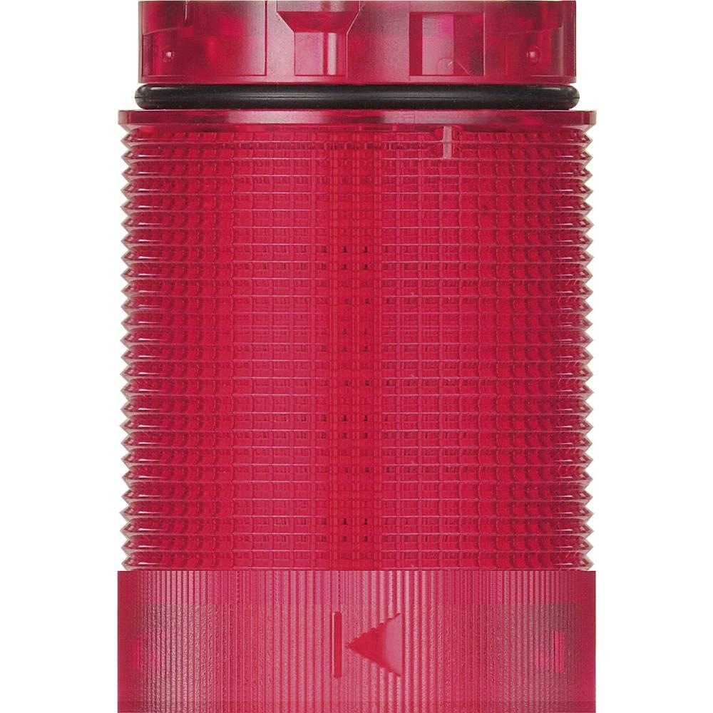 Signalni stolp LED Werma Signaltechnik KomdoIGN 40 TwinLIGHT rdeče barve stalna luč utripajoča luč 24 V/AC, 24 V/DC