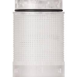 Signalni stolp LED Werma Signaltechnik KomdoIGN 40 TwinLIGHT cl rdeče barve stalna luč utripajoča luč 24 V/AC, 24 V/DC