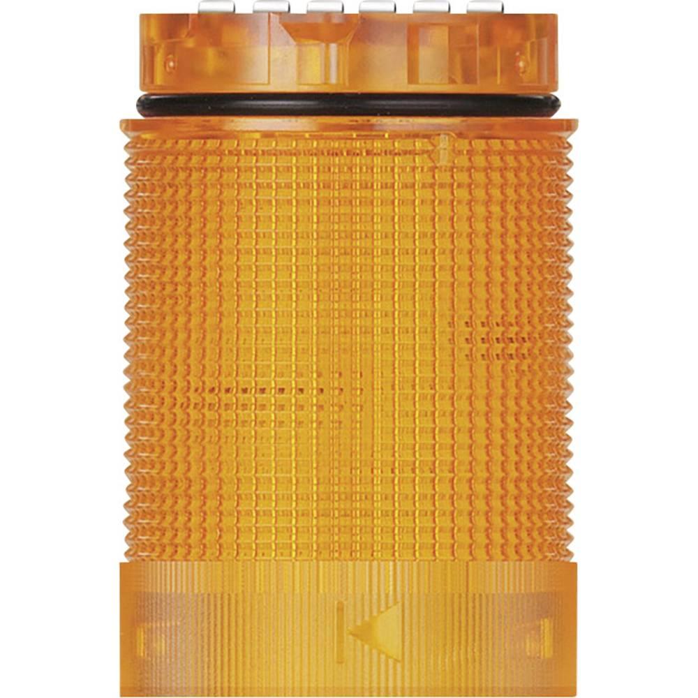 Signalni stolp LED Werma Signaltechnik KomdoIGN 40 TwinLIGHT rumene barve stalna luč utripajoča luč 24 V/AC, 24 V/DC