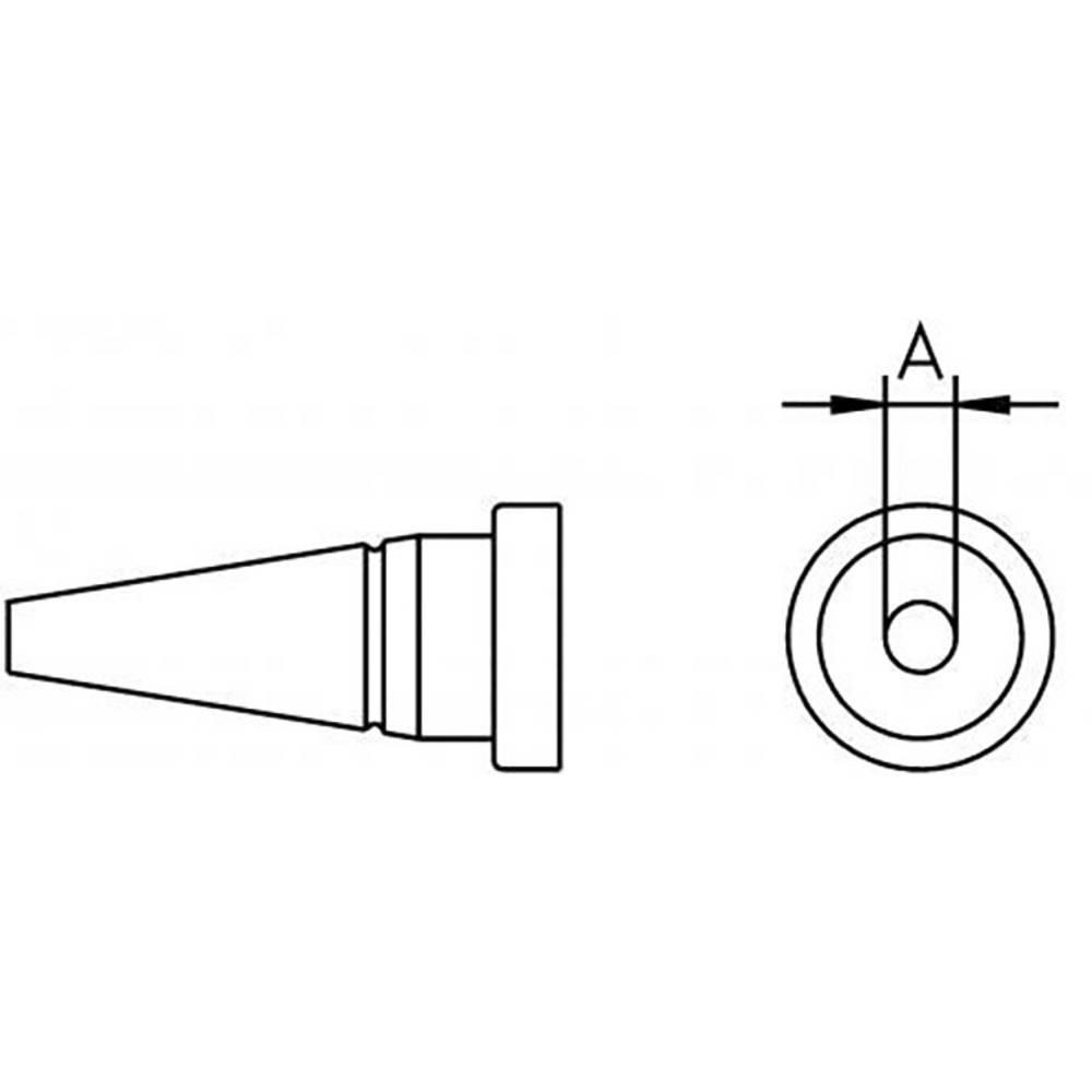 Spajkalna konica, okrogla Weller LT 1A dolžina konice 13 mm vsebuje 1 kos