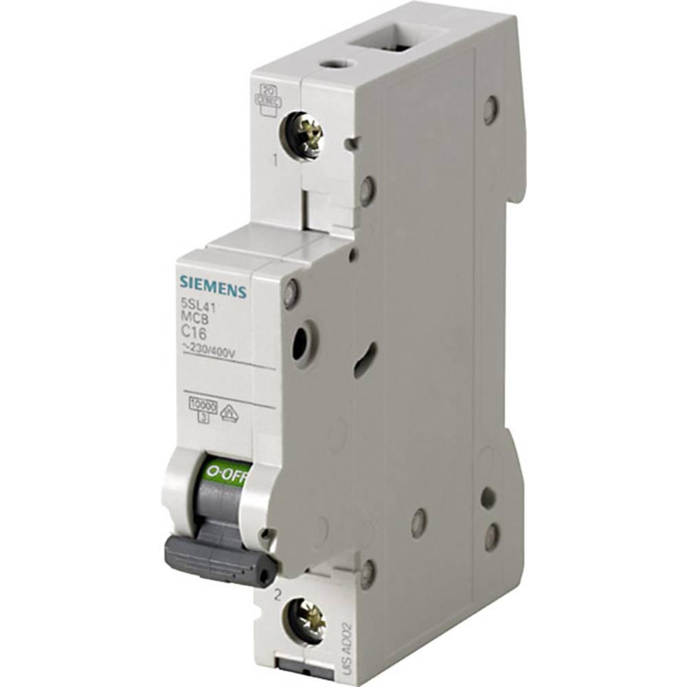 Inštalacijski odklopnik 1-polni 4 A 230 V, 400 V Siemens 5SL4104-7