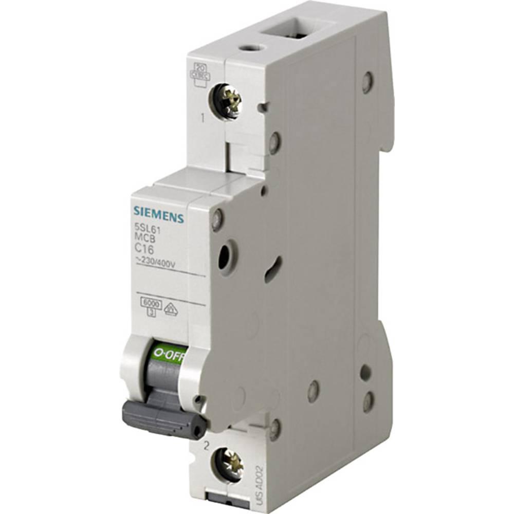 Inštalacijski odklopnik 1-polni 6 A 230 V, 400 V Siemens 5SL6106-6