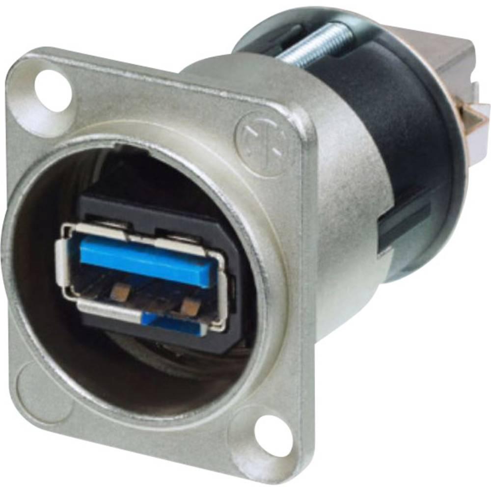 Reverzibilna USB uvodnica 3.0 vgradna vtičnica, Neutrik uvodnica Neutrik vsebina: 1 kos