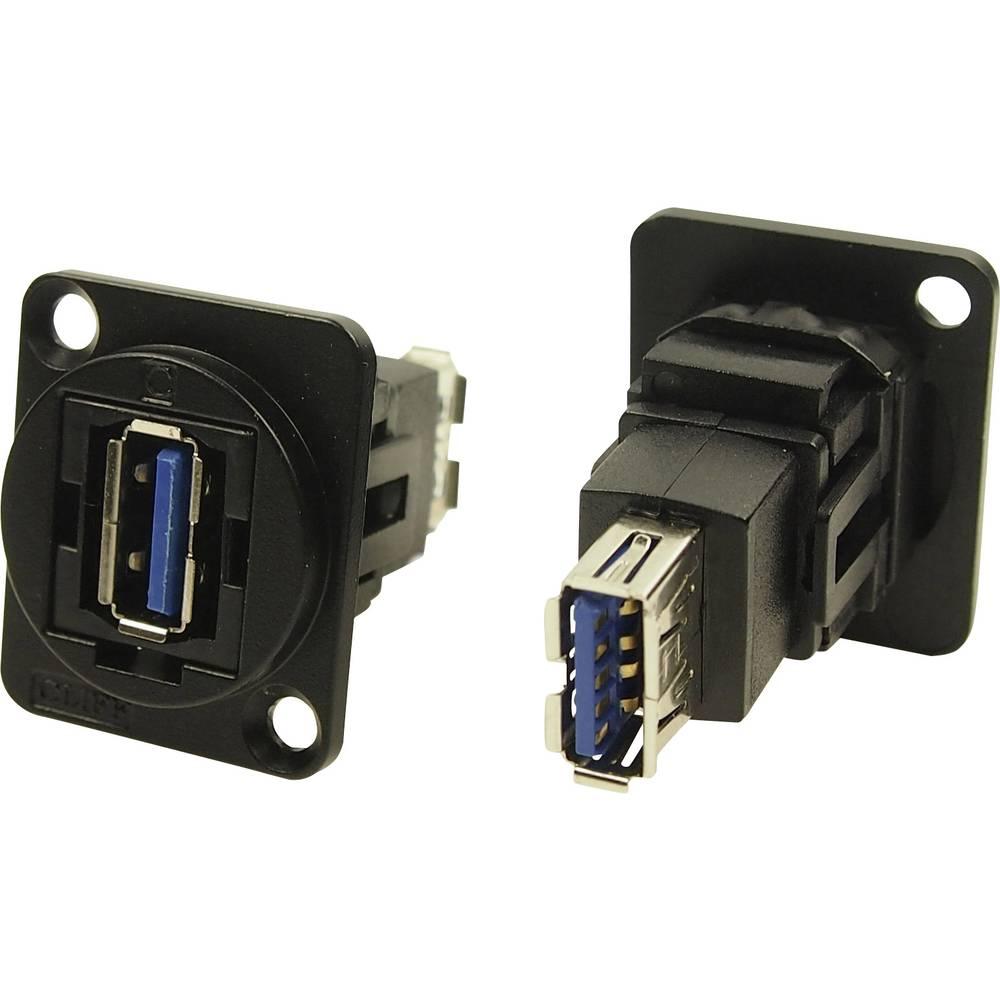 Cliff CP30205NMB USB 3.0 Svart 1 st