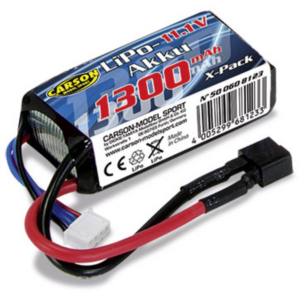 Carson (500608123) Rapscall 3S LiPo-akumulator 1300mAh