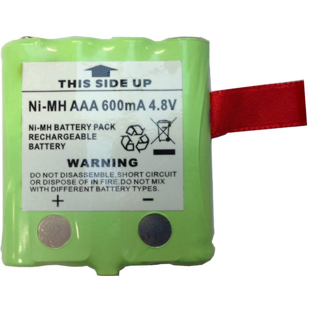 Baterija na punjenje za radijske uređaje DeTeWe 4.8 V 600 mAh