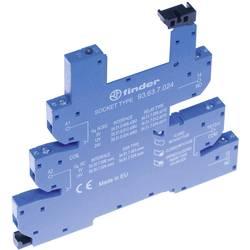 Podnožje releja z zaponko za varno odstranitev, z LED, z EMV-dušenjem odvodnega toka 1 kos Finder 93.63.0.240 Finder serija 34 F