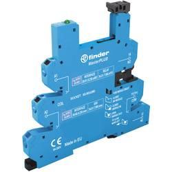 Podnožje releja z zaponko za varno odstranitev, z LED, z EMV-dušenjem odvodnega toka 1 kos Finder 93.66.0.240 Finder serija 34 F