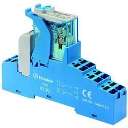 Finder 4C.P2.9.012.0050 LED-modul logičnih vrat Nazivna napetost: 12 V/DC Preklopni tok maks.: 8 A 2 menjalo Tray 10 kos