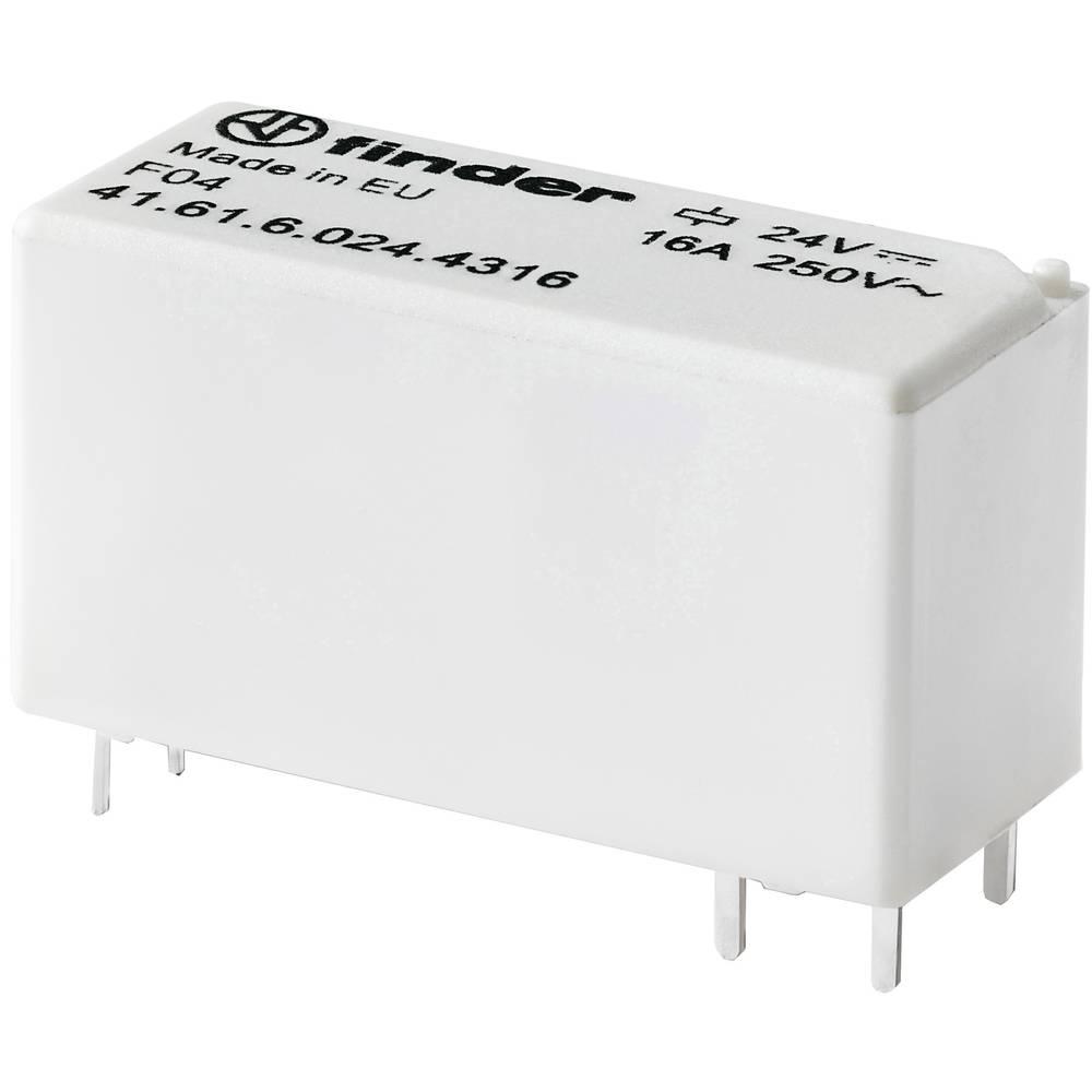 Rele za tiskana vezja 12 V/DC 16 A 1 zapiralni Finder 41.61.6.012.4316 1 kos