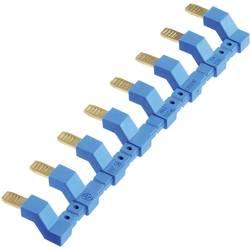 Finder 097.58 mostiček Število pinov: 8 modra Tray 10 kos