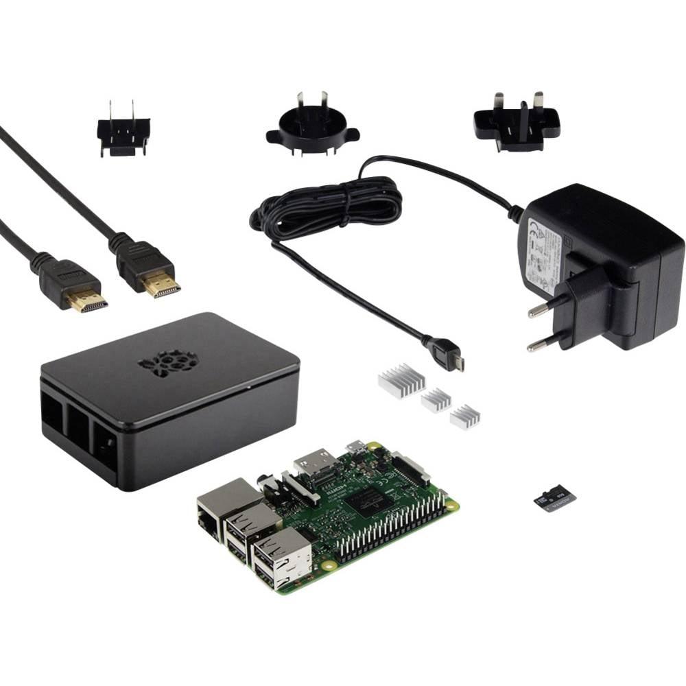 Raspberry Pi® 3 Model B Advanced-komplet 1 GB
