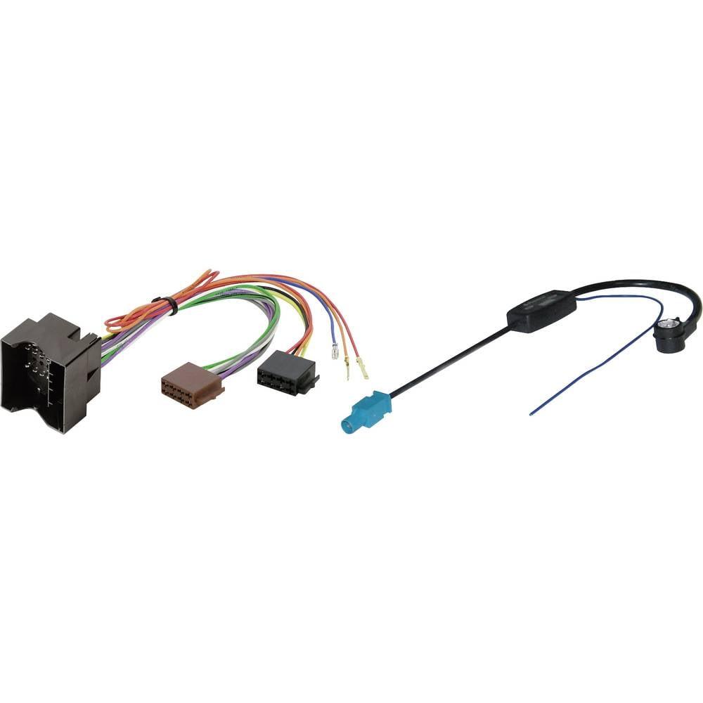ISO adapterski kabel za radio Phonocar Primerno za (znamka avtomobila): Audi, Opel, Seat, Skoda, Volkswagen