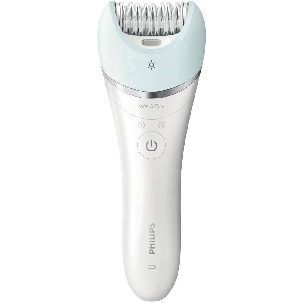 Epilator Philips BRE610/00 Satinelle Advanced bela, modra