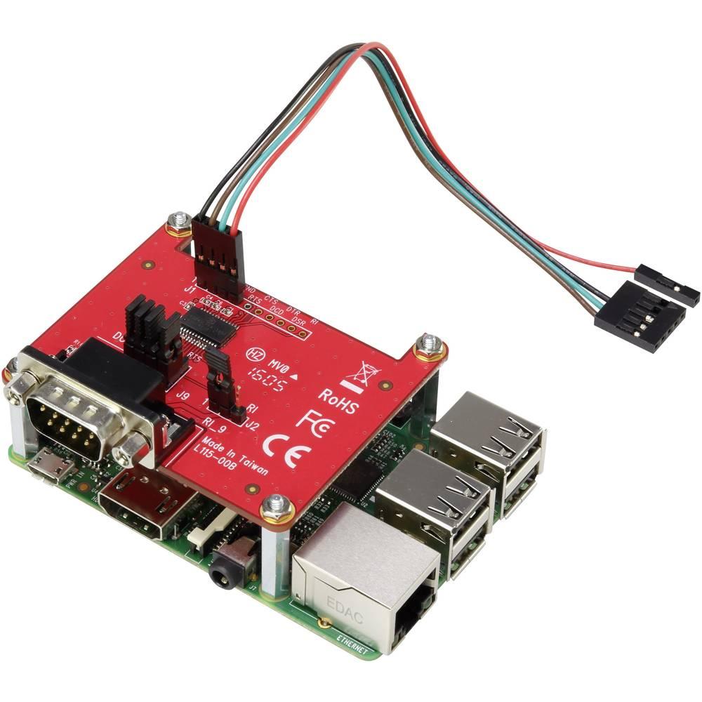 RS232 DTE/DCE expansionskort för Raspberry Pi