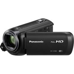 Kamkorder Panasonic HC-V380EG-K 7.6 cm (3) 2.2 mio. pikslov Opt. Zoom: 50 x črne barve