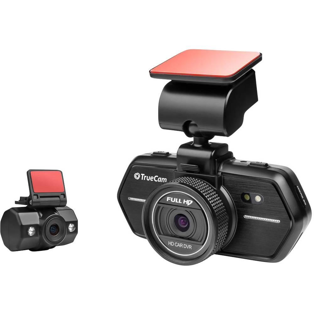 Avto kamera TrueCam A6 vodoravni kot gledanja=110 ° 12 V, 24 V dvojna kamera,