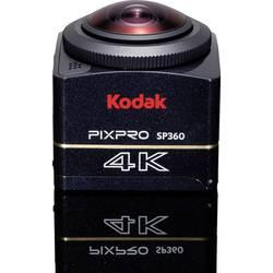 Akcijska kamera Kodak PIXPRO Explorer Pack 4K-BK7 4K, Full-HD, odporna pred mrazom, pred udarci, prahom in vodo, WLAN