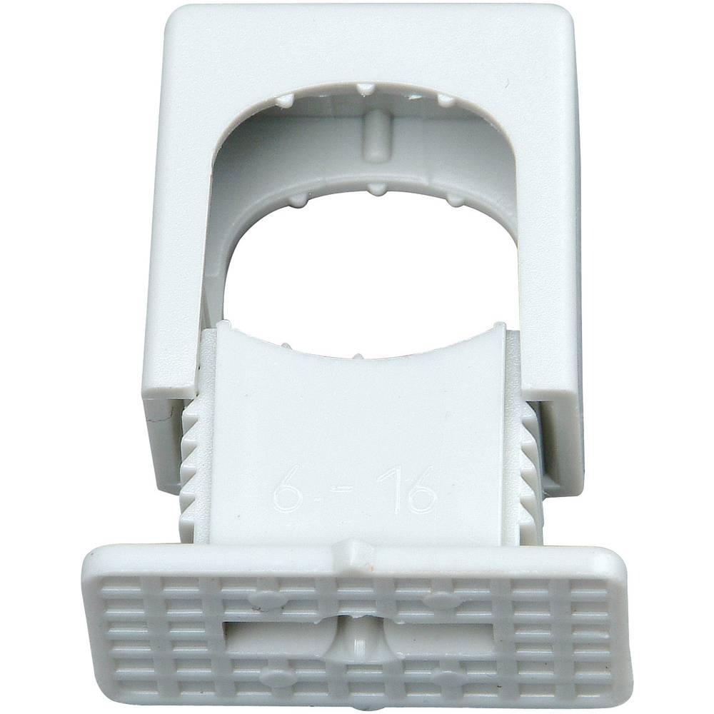 Komplet pritisnih izolacijskih držača kablova 343404099 Kopp 6-16 mm, siva, sadržaj: 50 kom.
