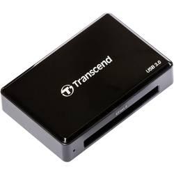 Zunanji bralnik kartic USB 3.0 Transcend RDF2 črne barve