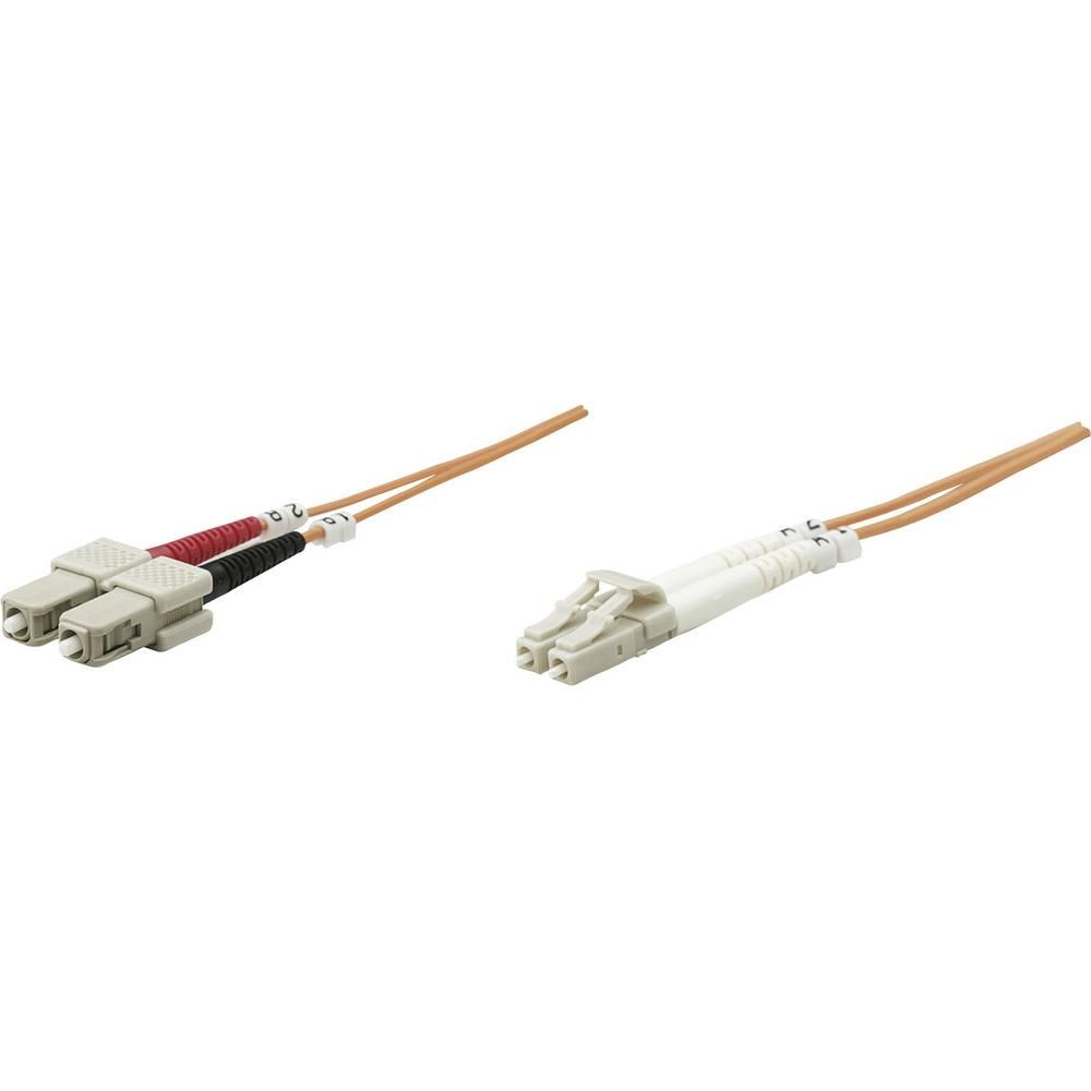 Priključni kabel iz optičnih vlaken [1x LC-vtič - 1x SC-vtič] 50/125µ multi-način OM2 10 m Intellinet