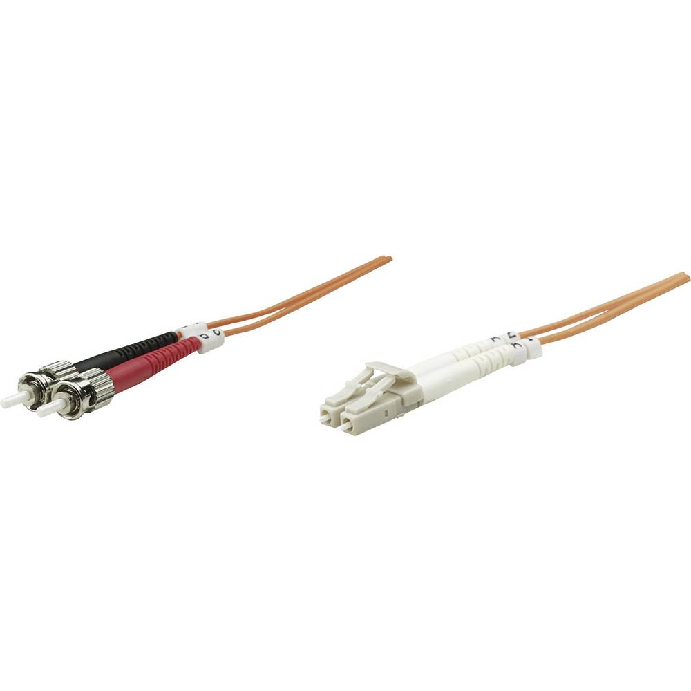 Priključni kabel iz optičnih vlaken [1x LC-vtič - 1x ST-vtič] 62,5/125µ multi-način OM1 20 m Intellinet