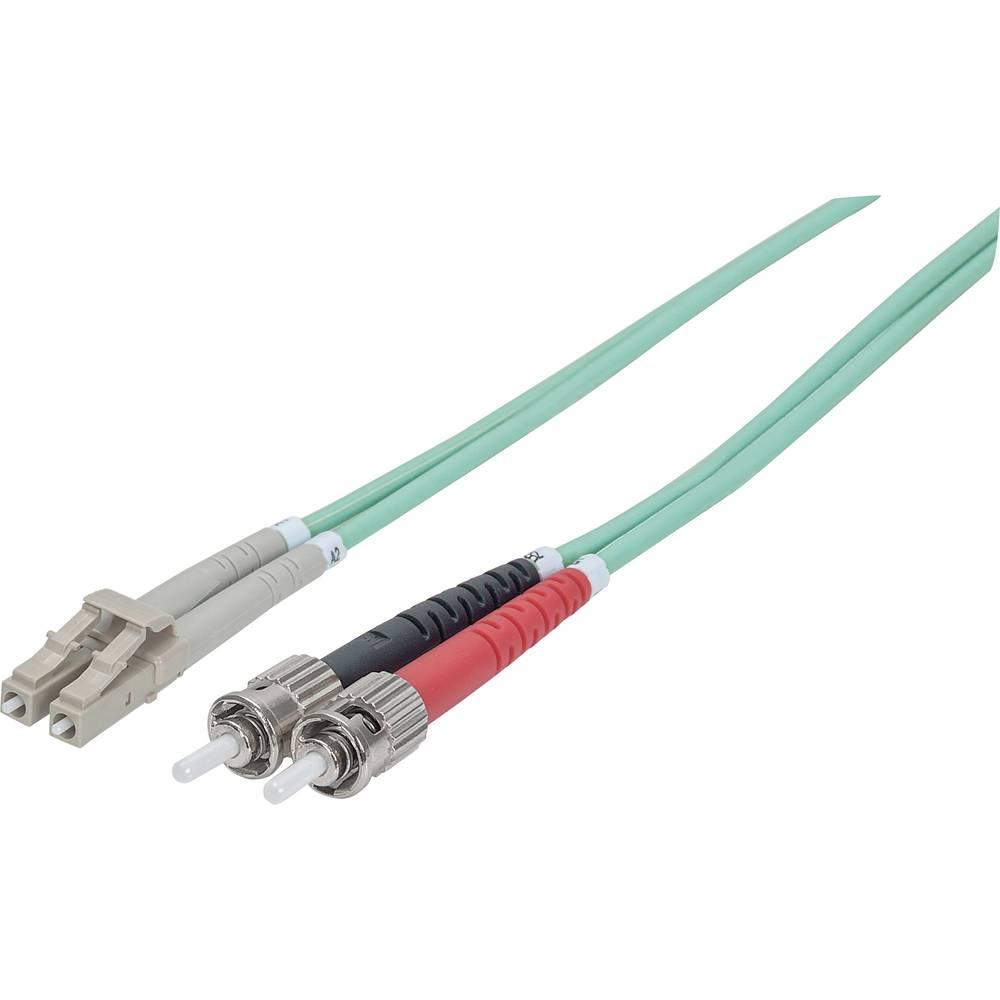 Priključni kabel iz optičnih vlaken [1x ST-vtič - 1x LC-vtič] 50/125µ multi-način OM3 5 m Intellinet