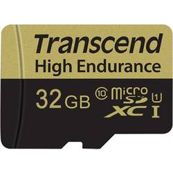 microSDHC-kartica 32 GB Transcend High Endurance Class 10 vklj. z SD-adapterjem