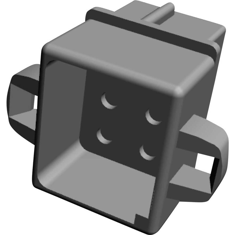 Ohišje kabelske vtičnice, skupno št. polov: 6 TE Connectivity 1-480276-0 razporeditev kontaktov: 5.08 mm 1 kos