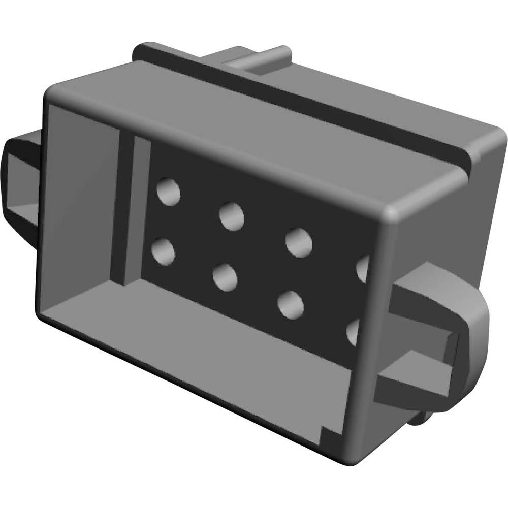Ohišje kabelskega vtiča, skupno št. polov: 12 TE Connectivity 1-480278-0 razporeditev kontaktov: 5.08 mm 1 kos