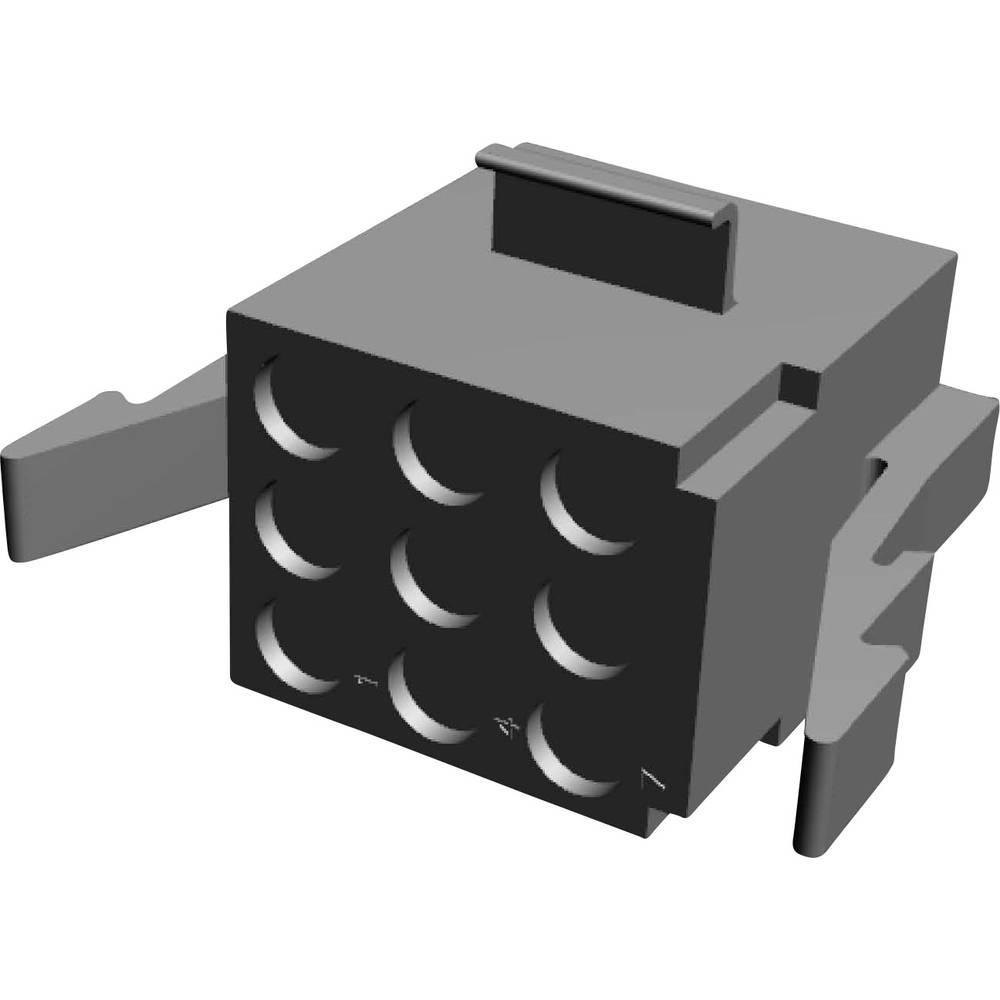 Tilslutningskabinet-kabel MATE-N-LOK (value.1360599) Samlet antal poler 9 TE Connectivity 1-480274-0 Rastermål: 5.08 mm 1 stk