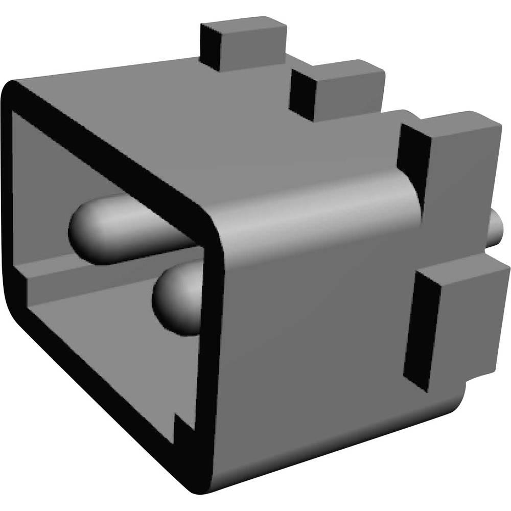 Stiftkabinet-printplade MATE-N-LOK Samlet antal poler 2 TE Connectivity 350539-1 Rastermål: 5.08 mm 1 stk